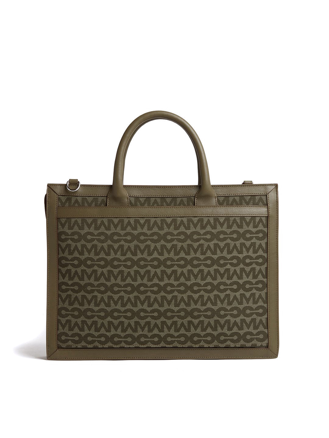 Reid MC Jacquard & Leather Briefcase