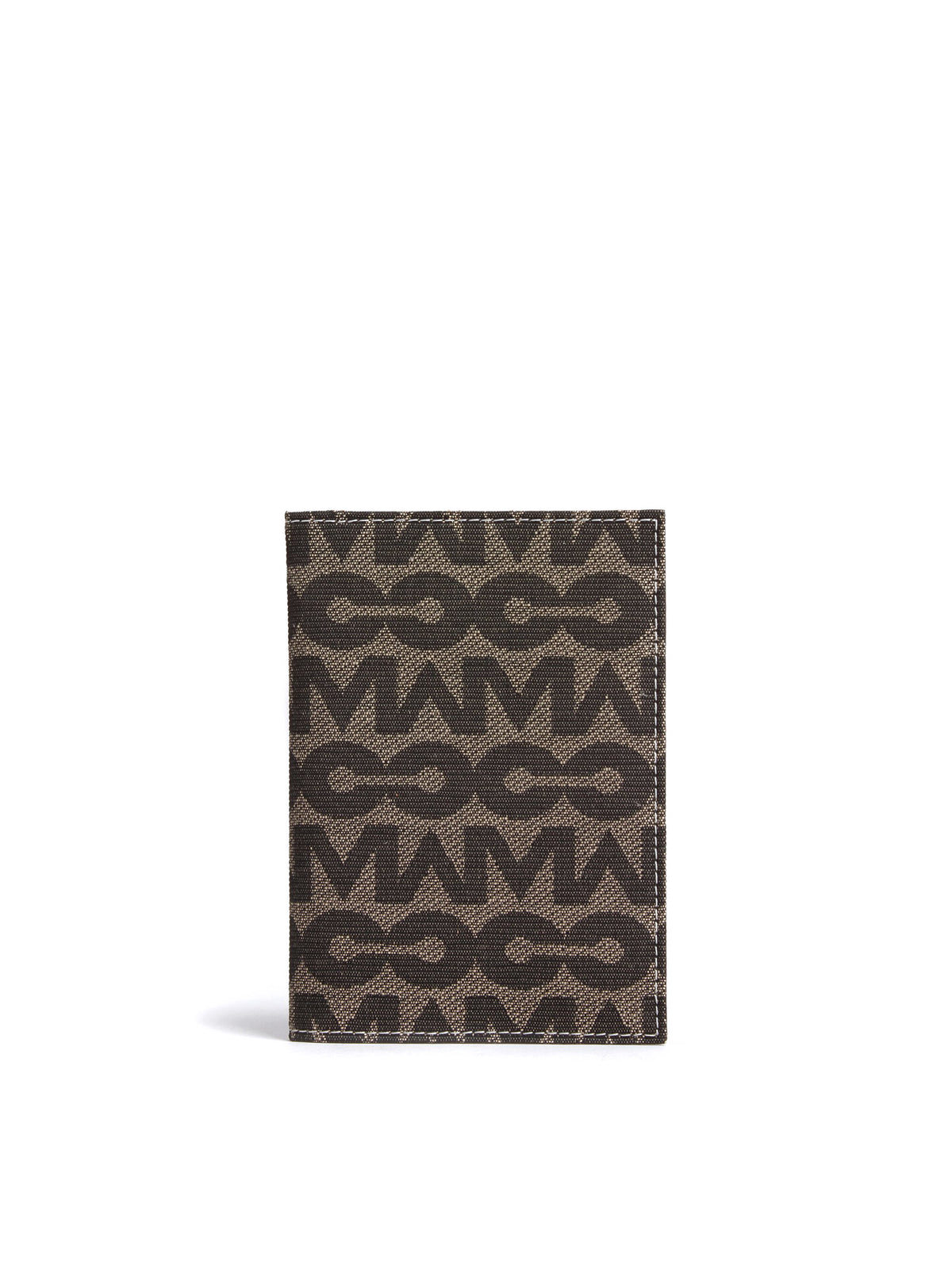 MC Jacquard & Leather Passport Cover