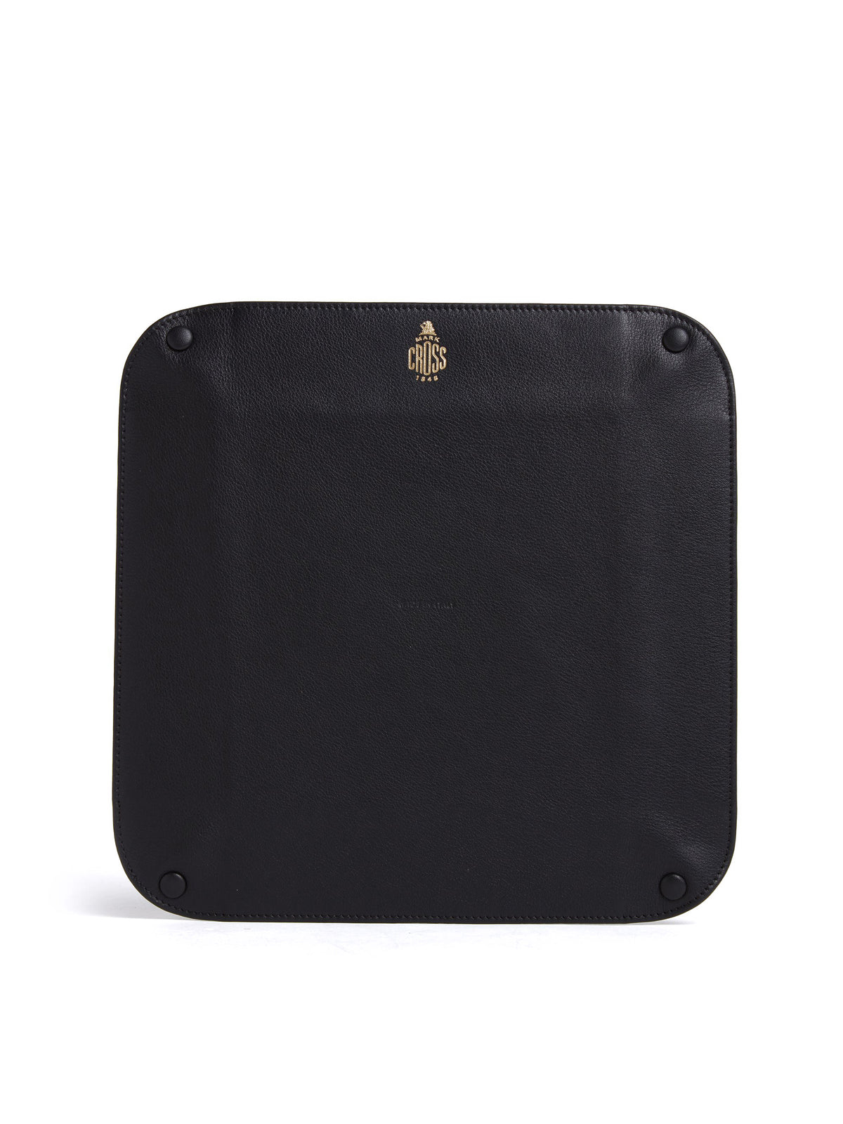 Large MC Jacquard & Leather Valet Tray