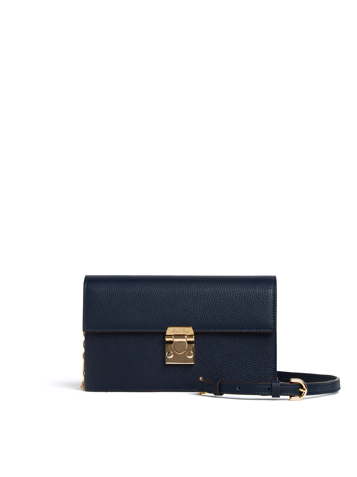 Carrie Leather Crossbody Bag