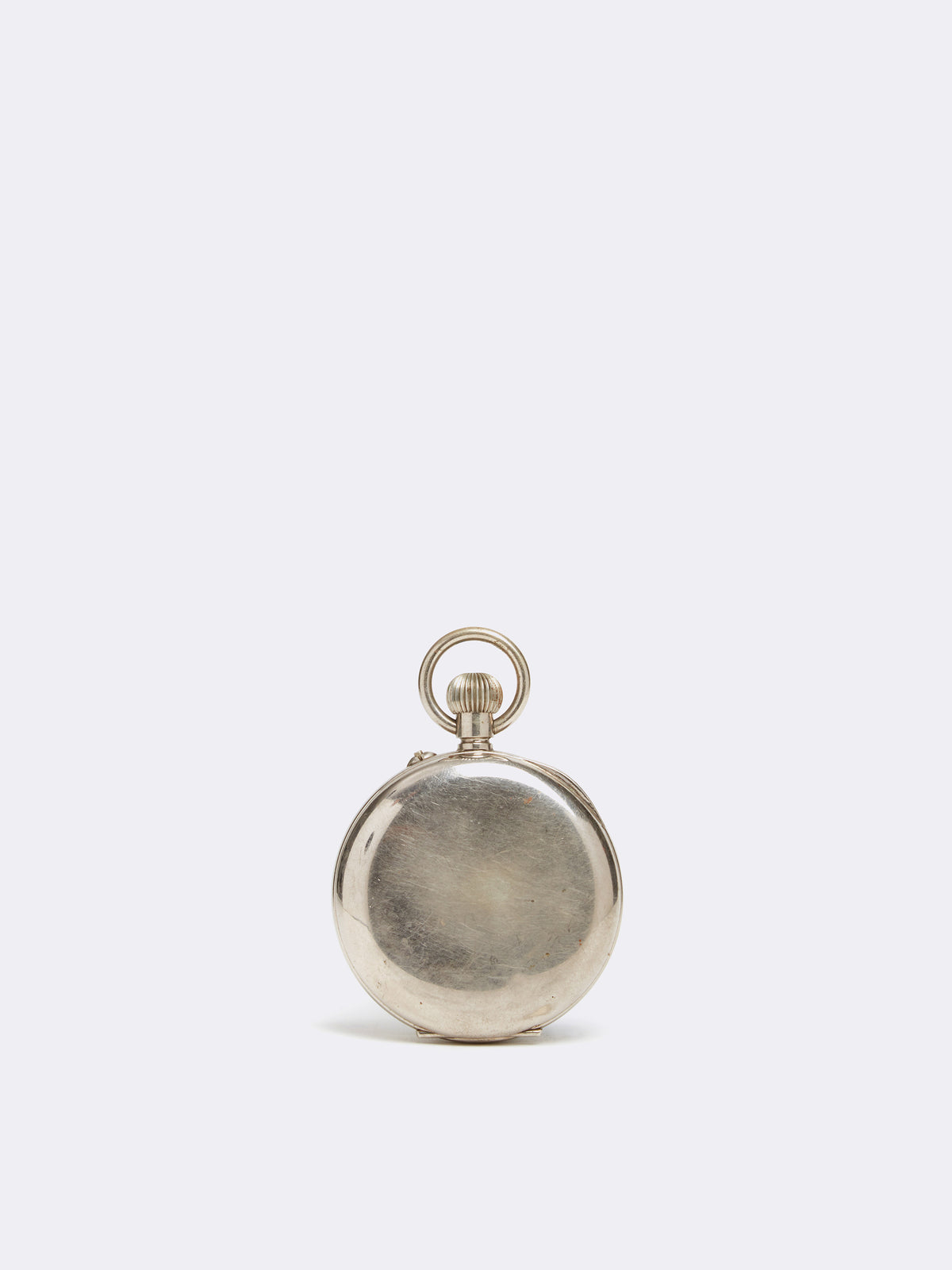 Mark Cross Archive Pocket Watch Metal Silver Back