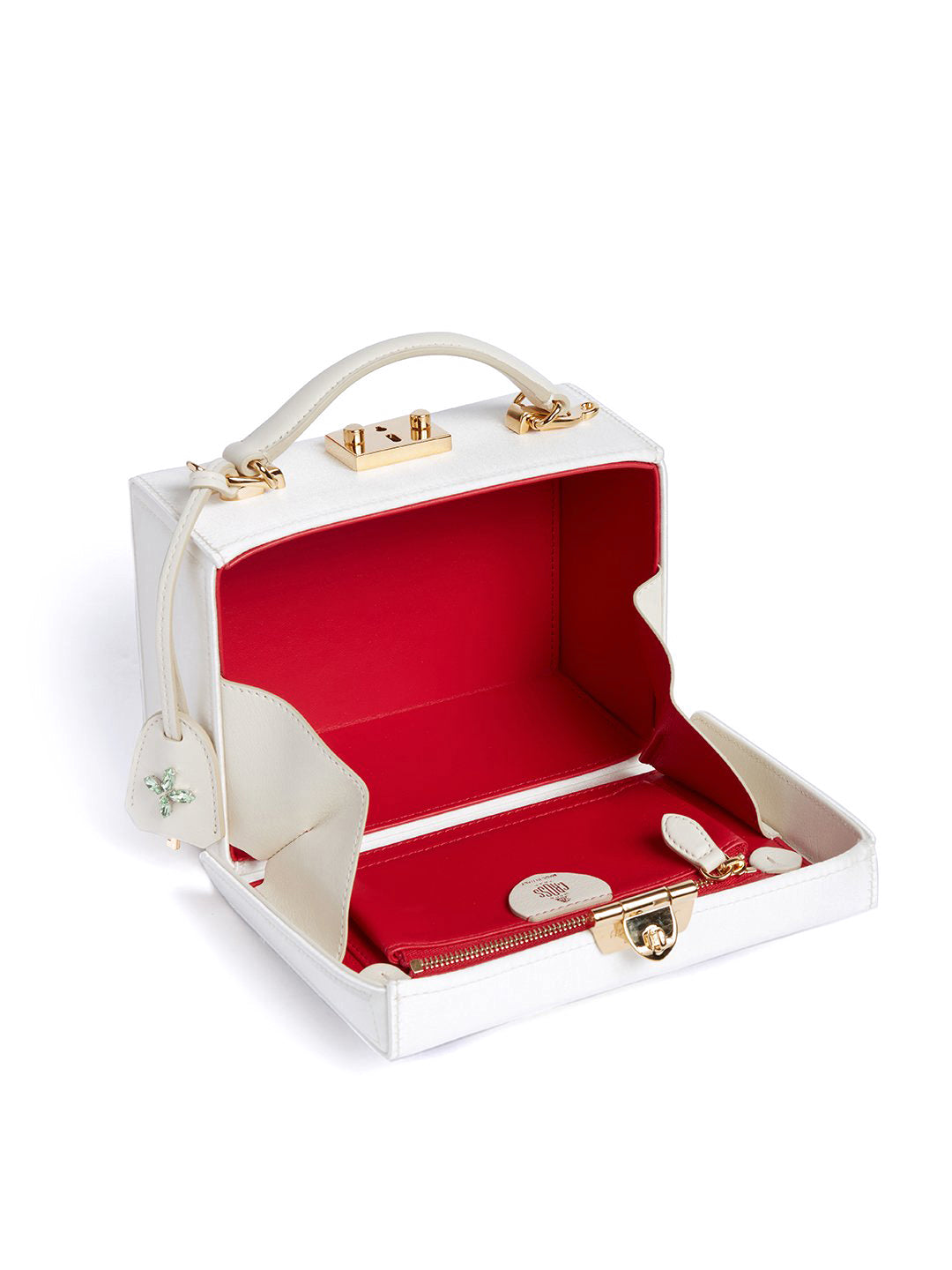 Grace Small Satin Box Bag