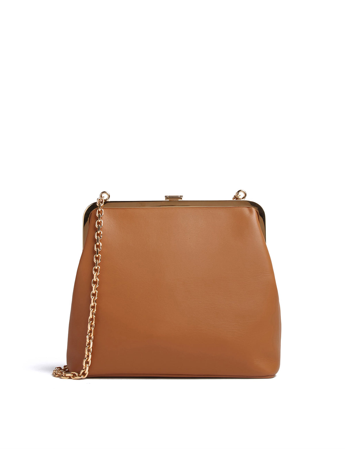 Susanna Leather Frame Pouch Bag