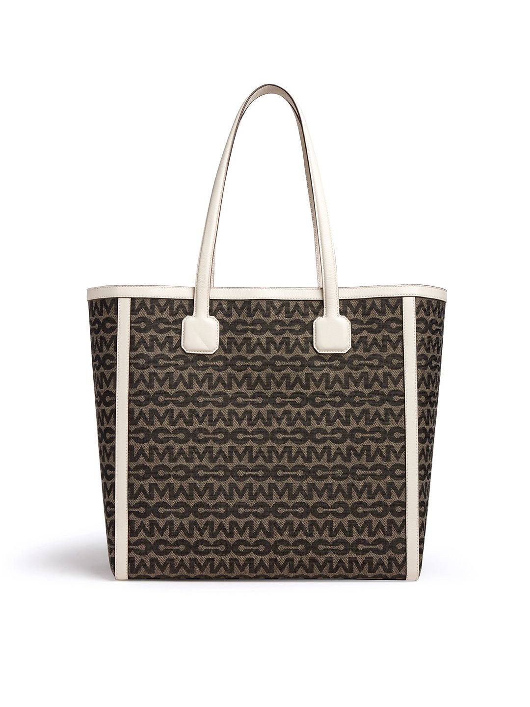 Antibes MC Jacquard & Leather Tote Bag