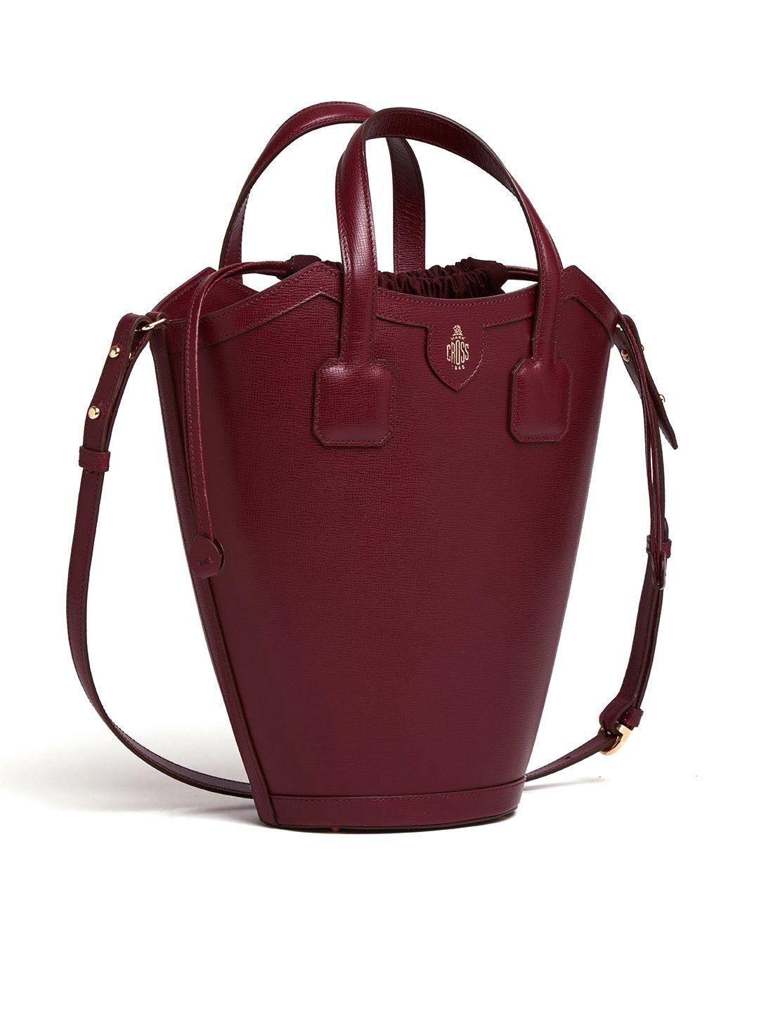 Madeline Leather Bucket Bag