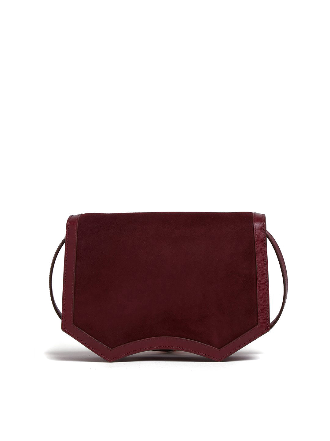 Madeline Suede & Leather Crossbody Bag