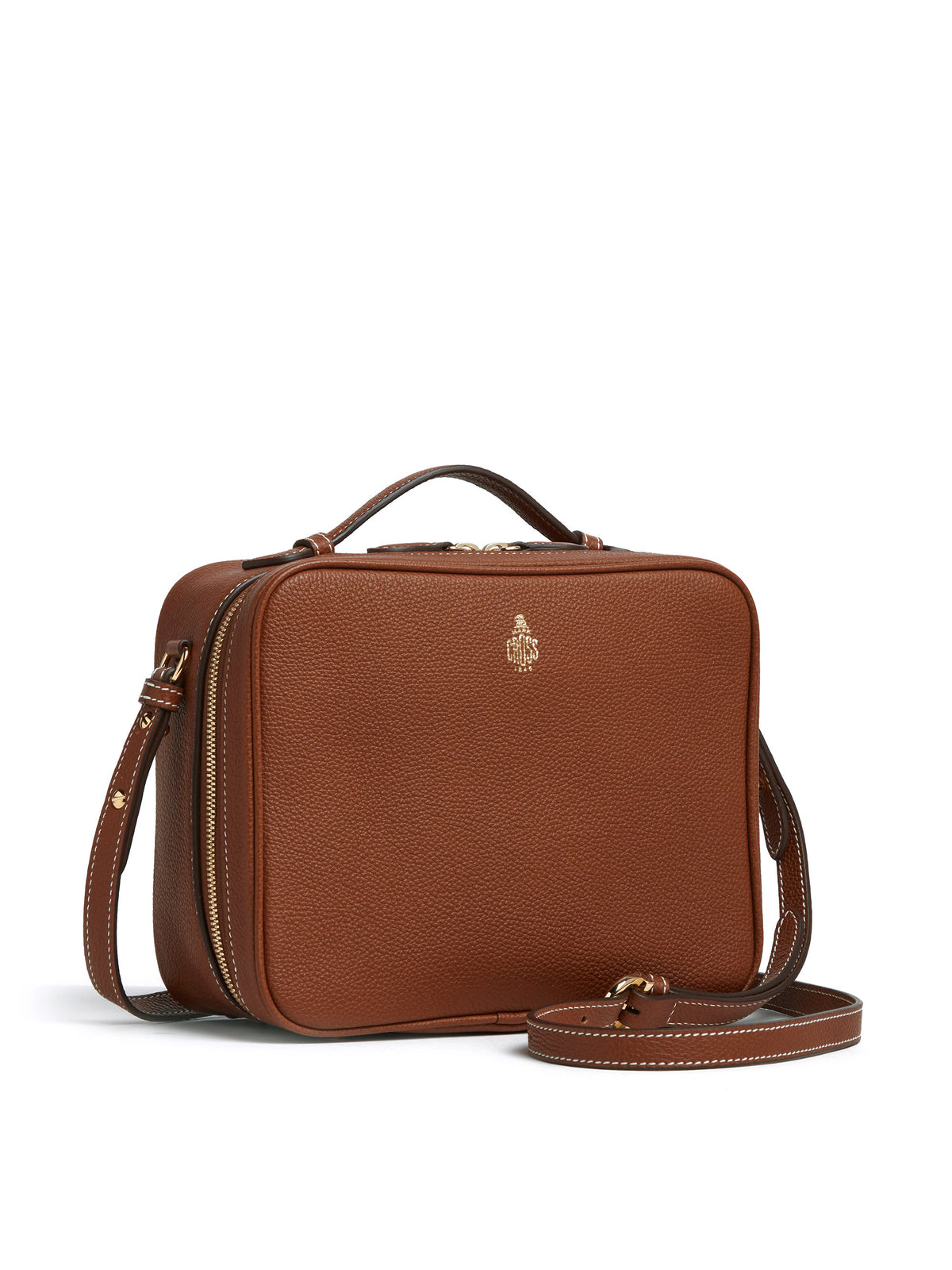 Madison Leather Crossbody Bag