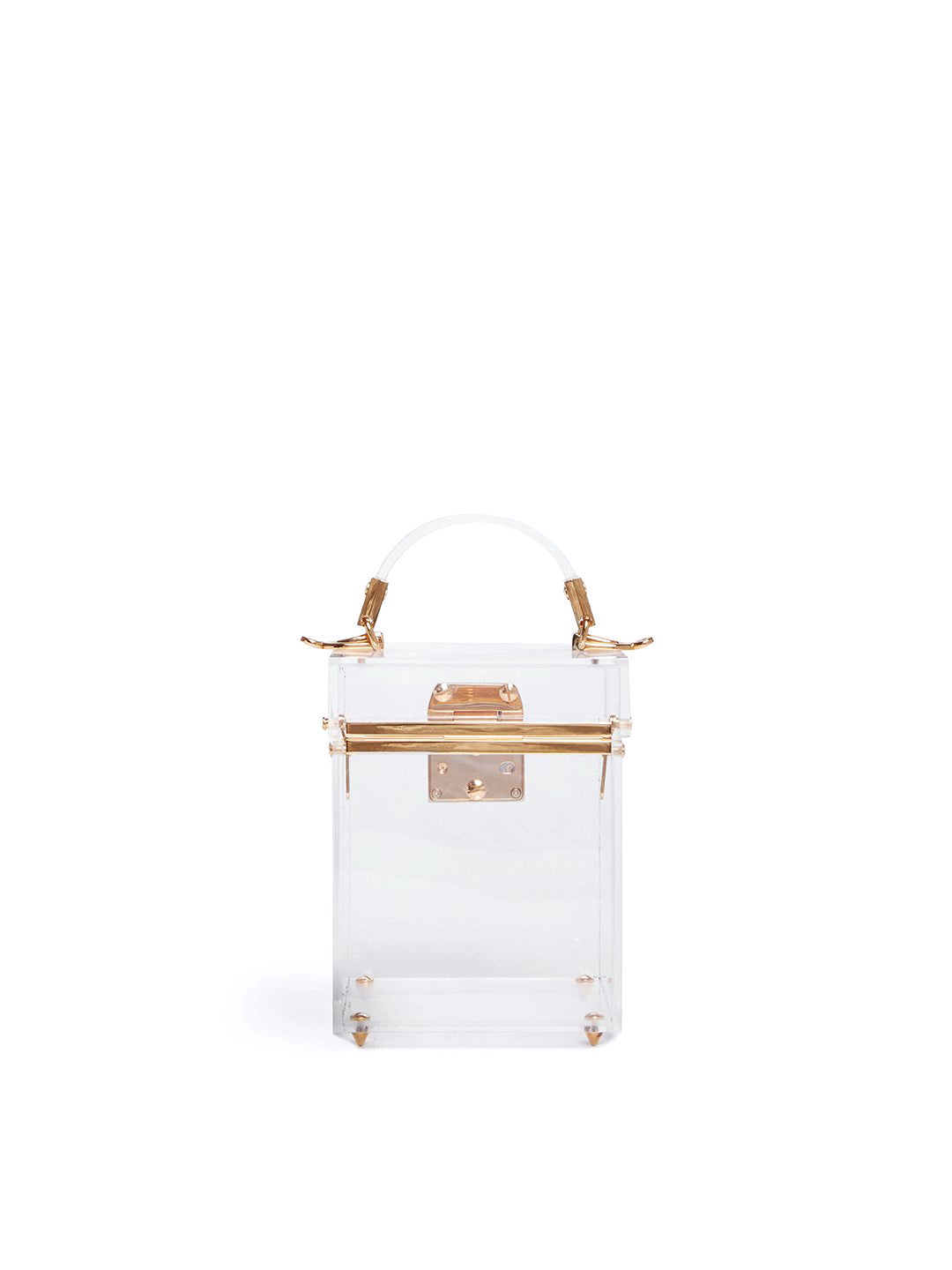 Grace Cube Plexi Box Bag