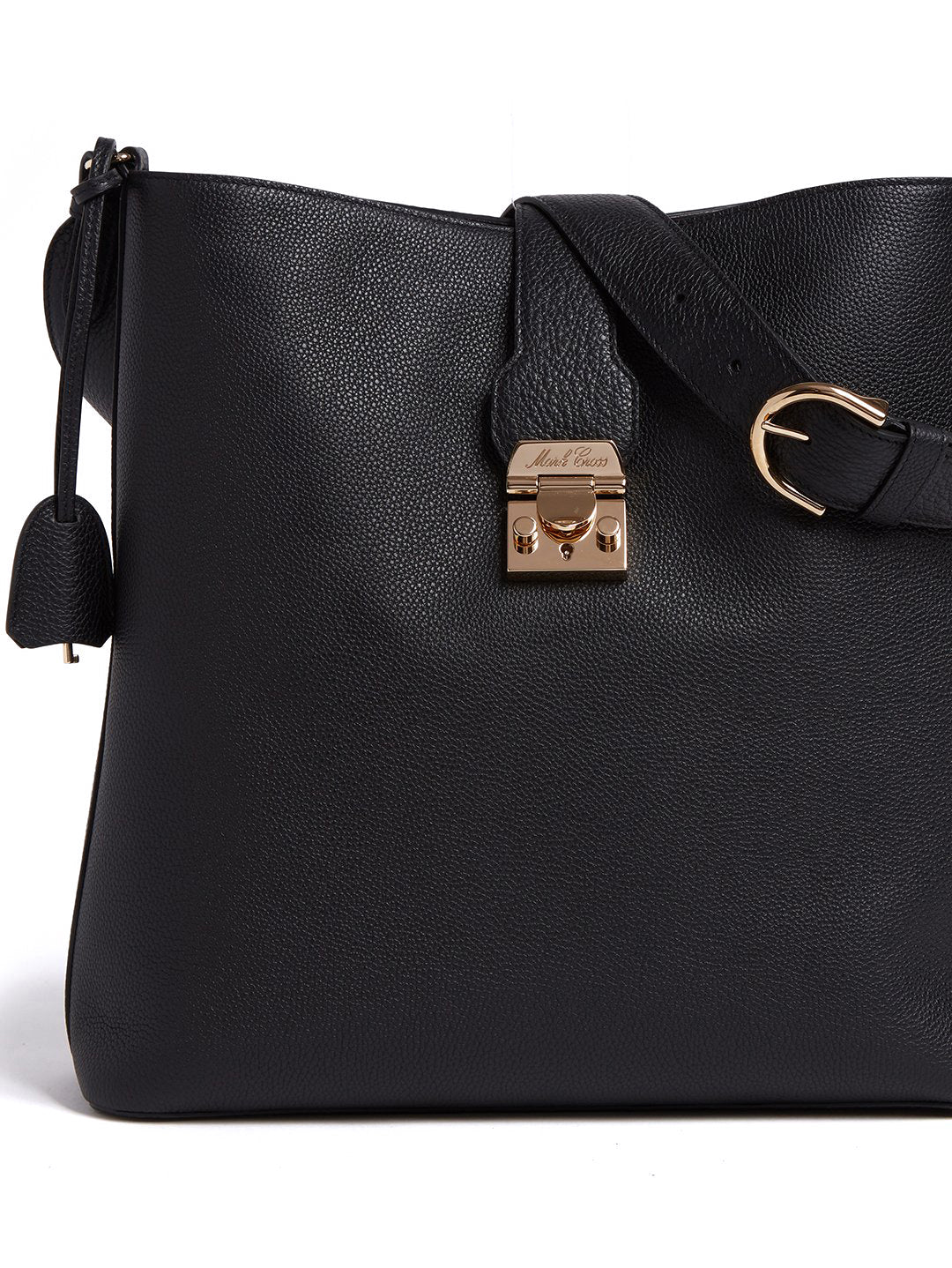 Murphy Hobo Leather Bucket Bag
