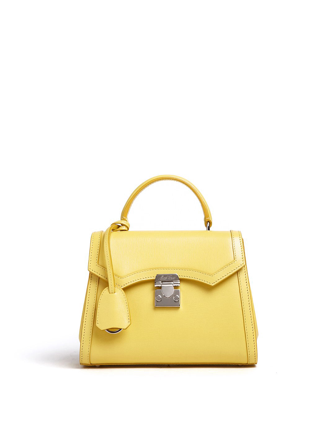 Madeline Mini Lady Leather Top Handle Bag