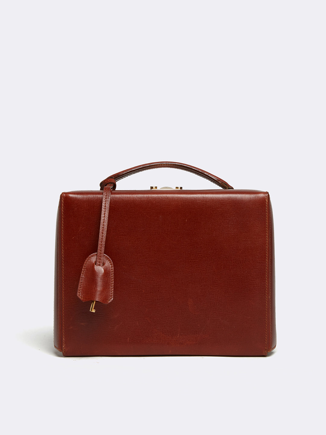 Vintage Grace Leather Box Bag