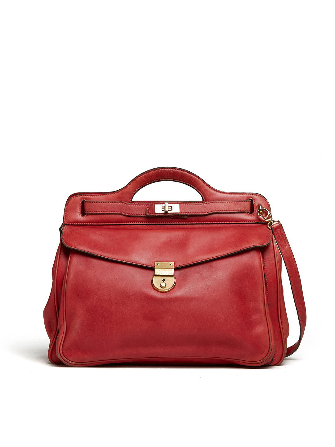 Archive Leather Crossbody Bag