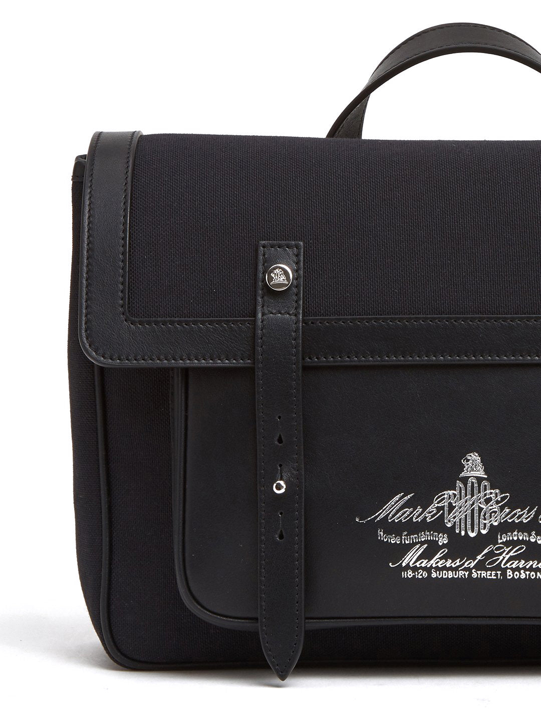 Equestrian Historical Logo Saddle Bag