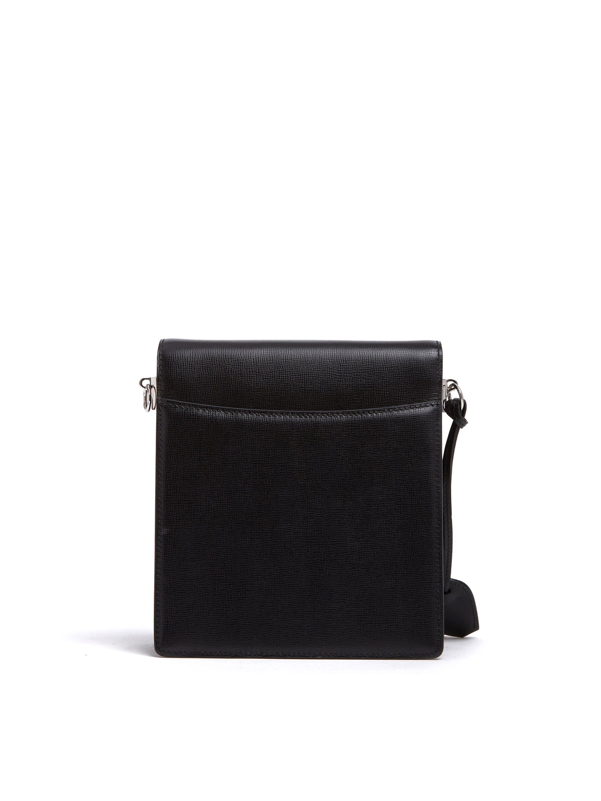 Mark Cross Patrick Leather Crossbody Bag Mini Franzi Black Back