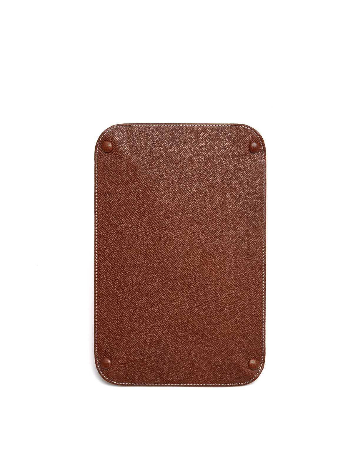 Mark Cross Medium Leather Valet Tray Saffiano Acorn Back