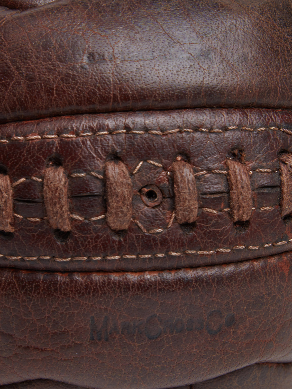 Archive Leather Soccer Ball