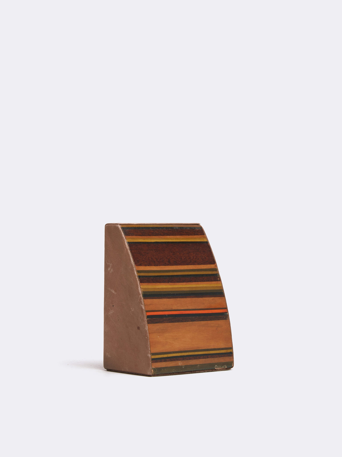 Mark Cross Archive MCM Leather Bookends Multi Side