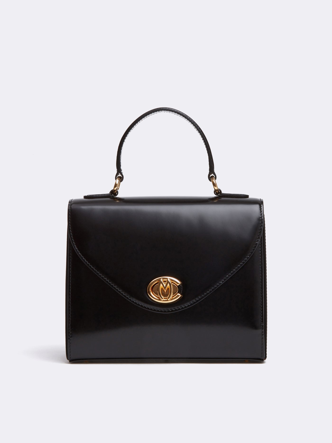 Valentina Leather Top Handle Bag