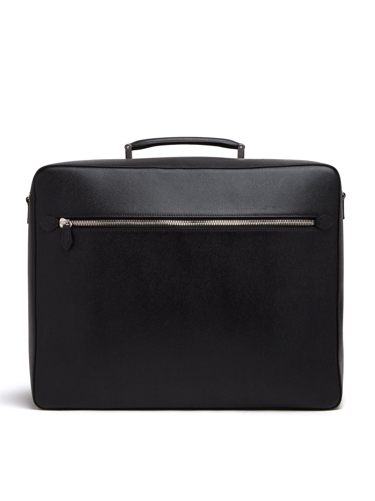 Baker Leather Overnight Bag