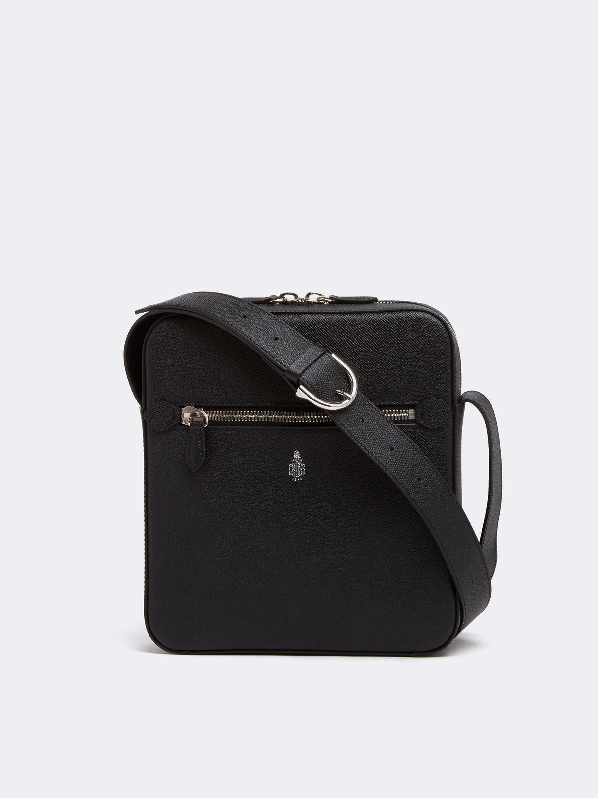 Baker Leather Crossbody Bag