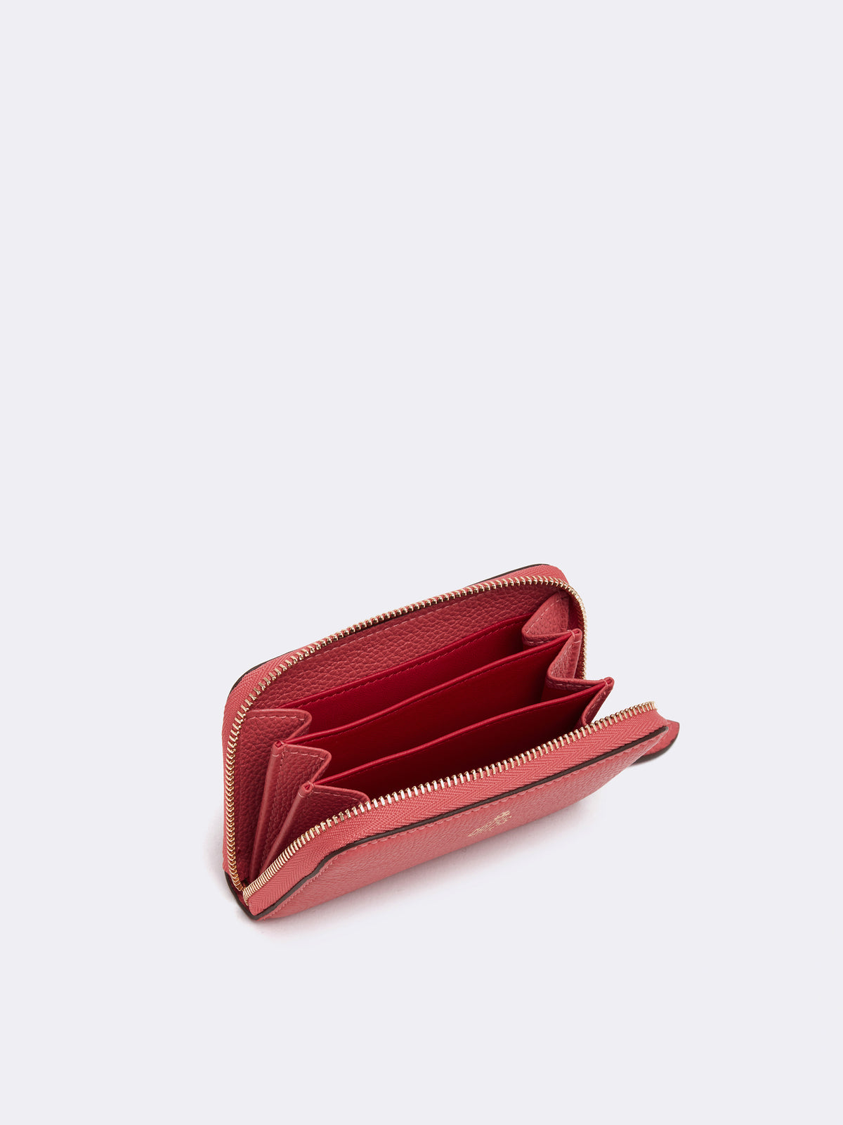 Grace Mini Leather Zip Wallet