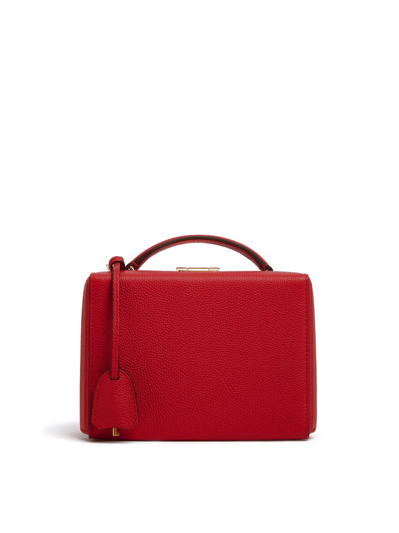Grace Small Leather Box Bag