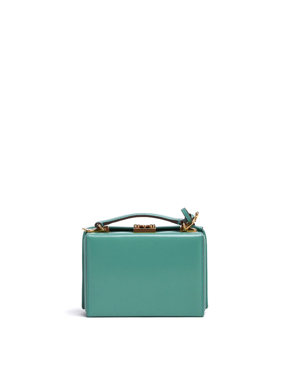 Grace Mini Leather Box Bag