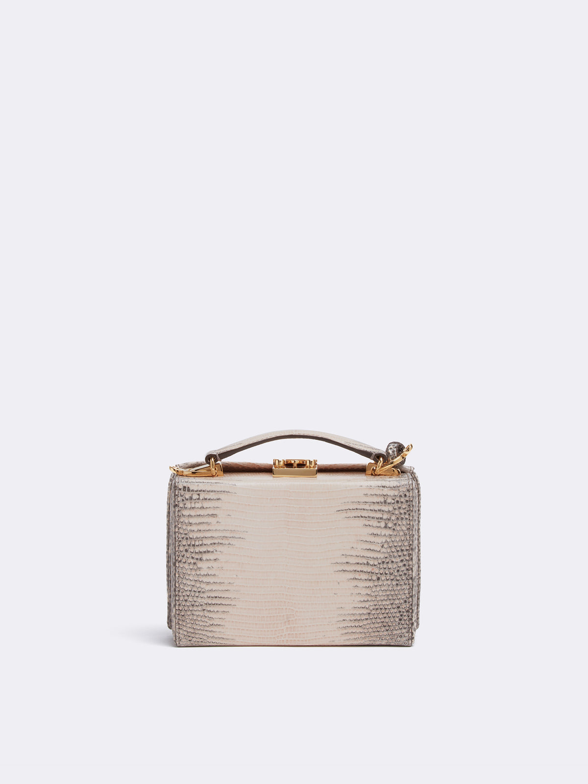 Grace Mini Ring Lizard Box Bag