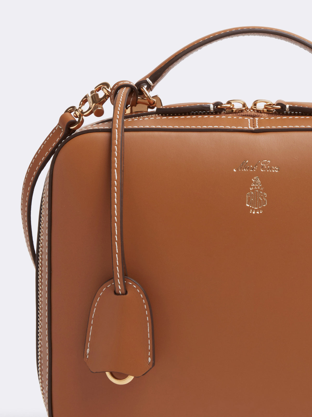 Laura Leather Crossbody Bag