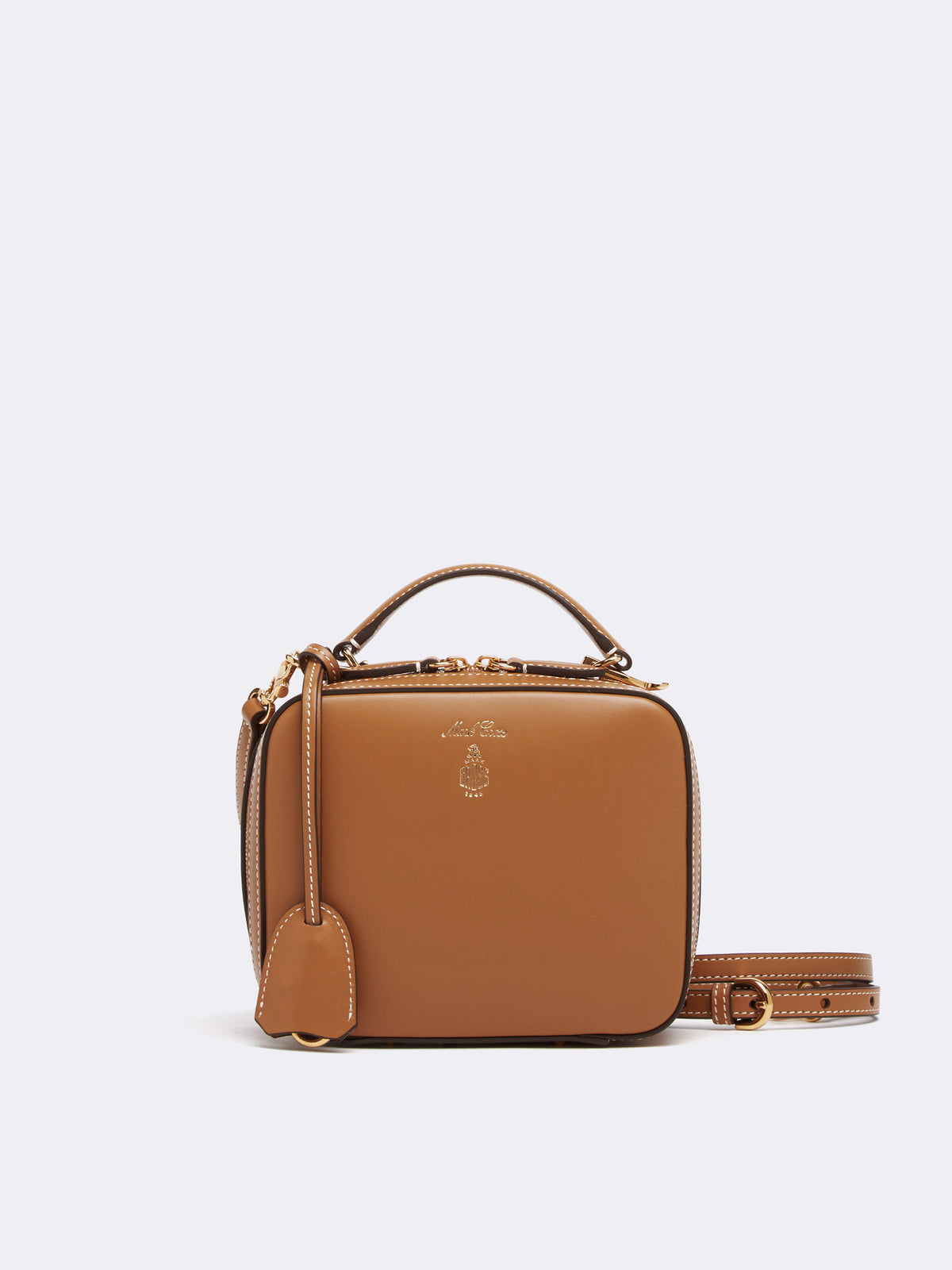 Baby Laura Leather Crossbody Bag