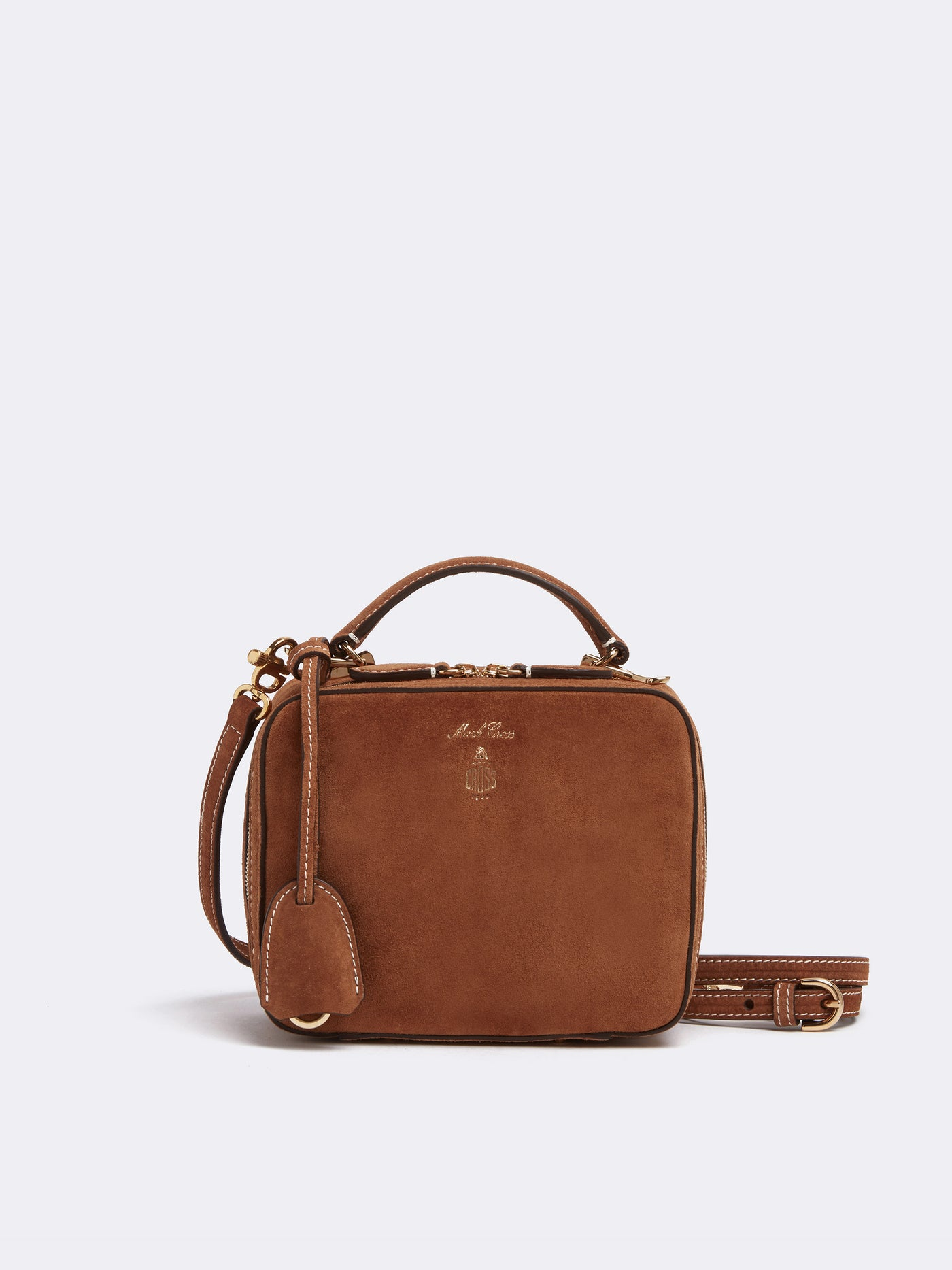 Baby Laura Suede Crossbody Bag