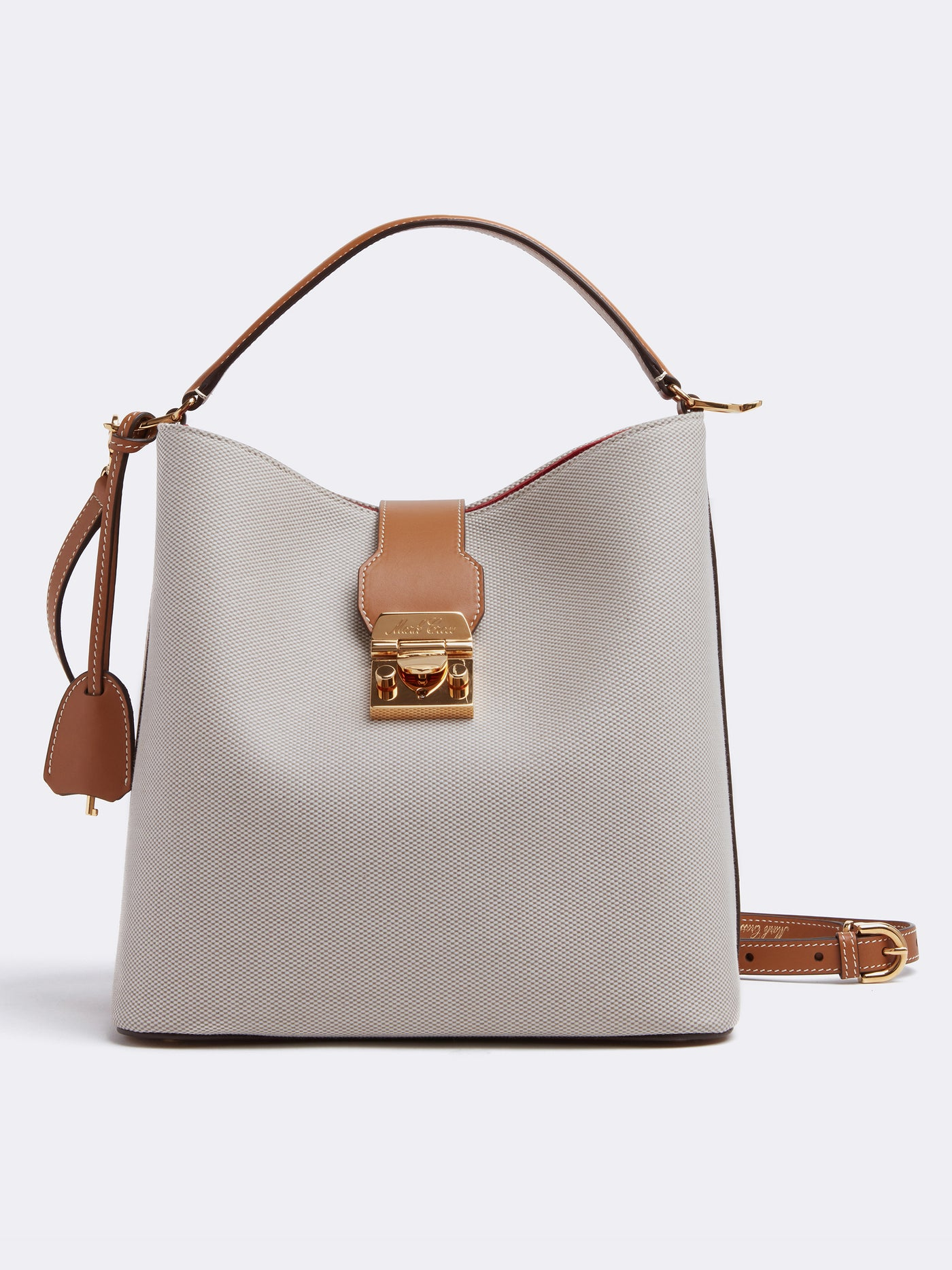 Murphy Large Birdseye & Leather Bucket Bag