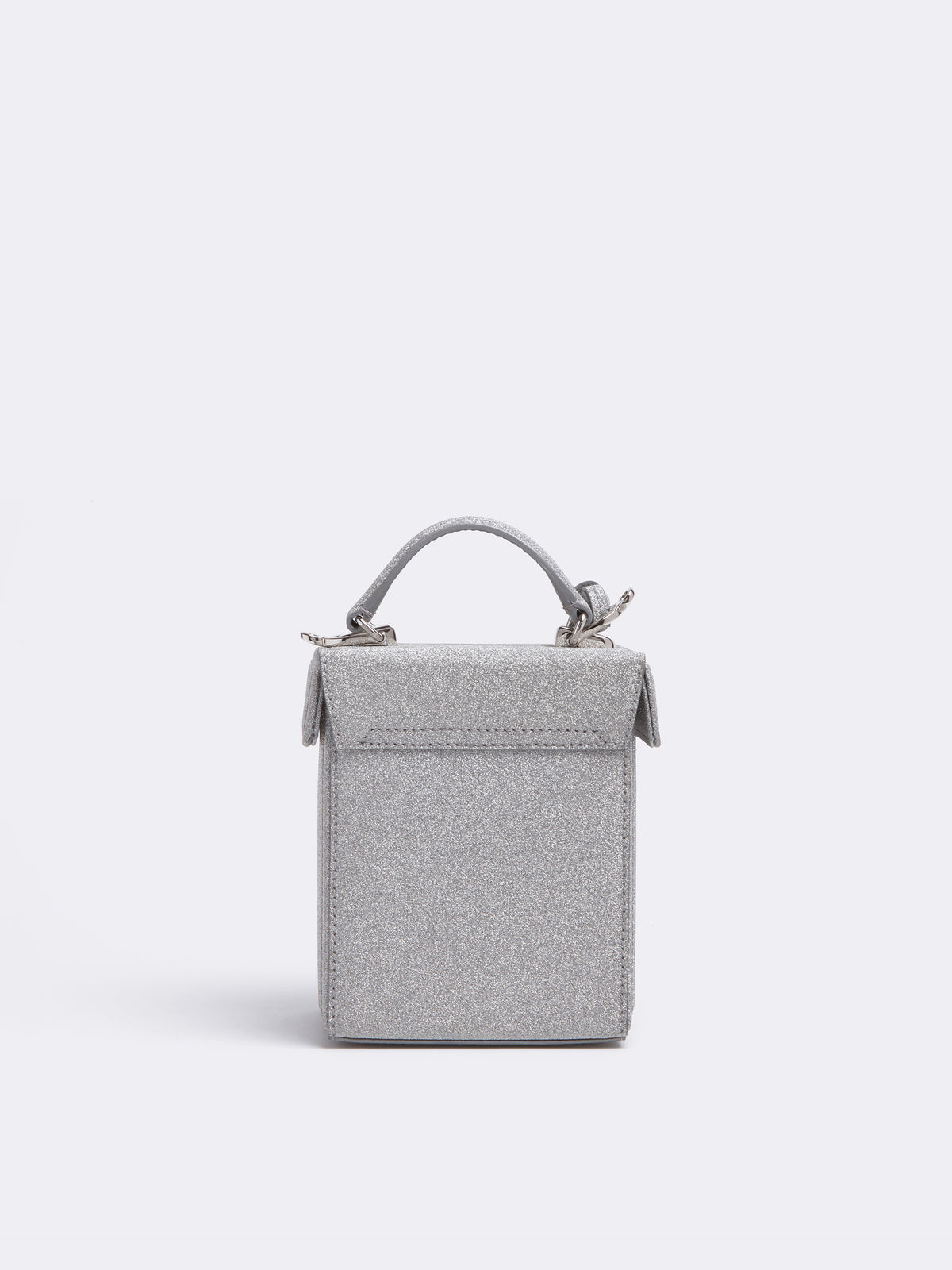 Grace Cube Leather Box Bag