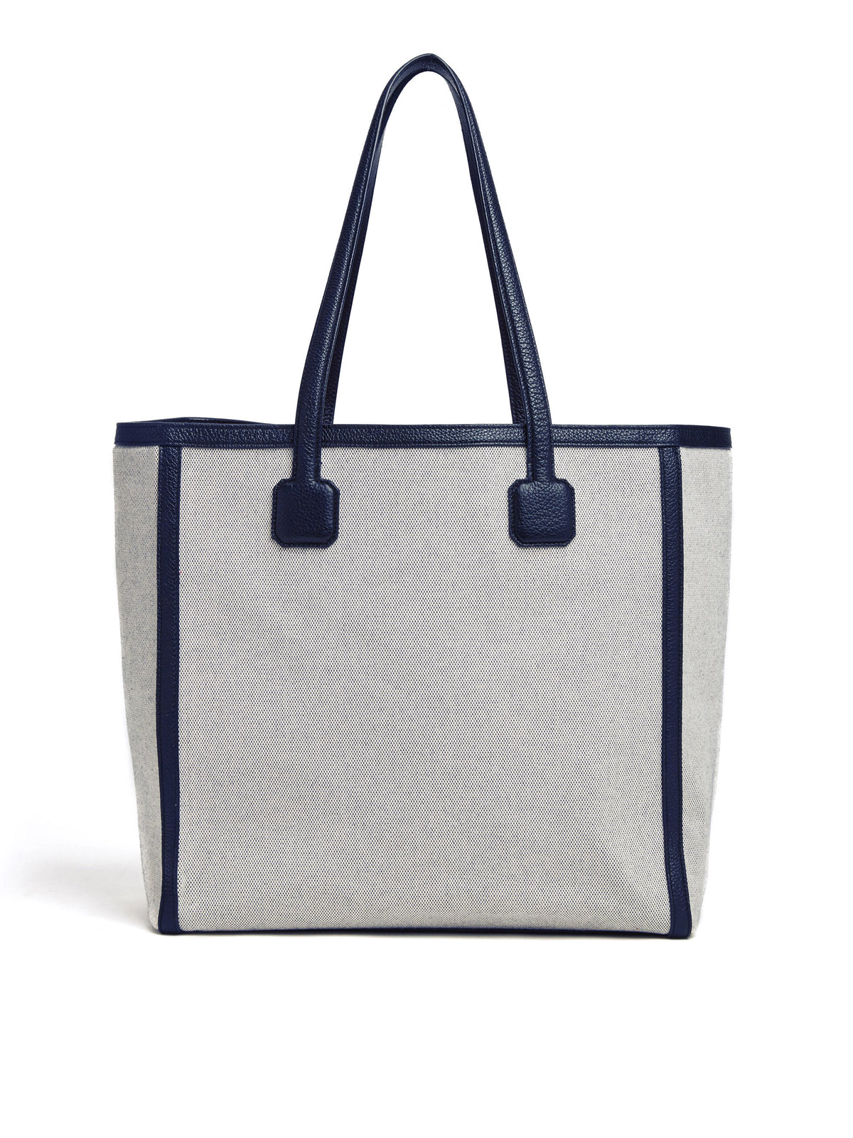 Antibes Birdseye & Leather Tote Bag