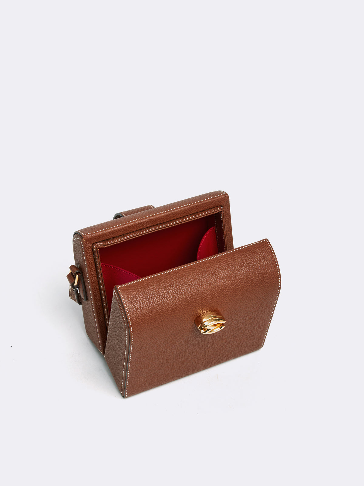 Cupola Leather Shoulder Bag