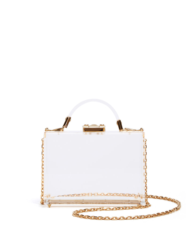 Grace Plexi Box Bag