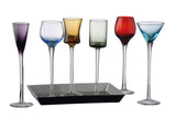 7 Piece Long Stem Liqueur Set