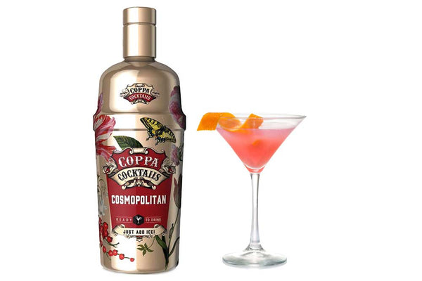 Premium Ready-to-Drink Coppa Cocktails Cosmopolitan - 700ml | 10% vol