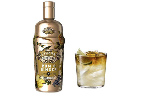Premium Ready-to-Drink Coppa Cocktails Rum & Ginger - 700ml | 10% vol