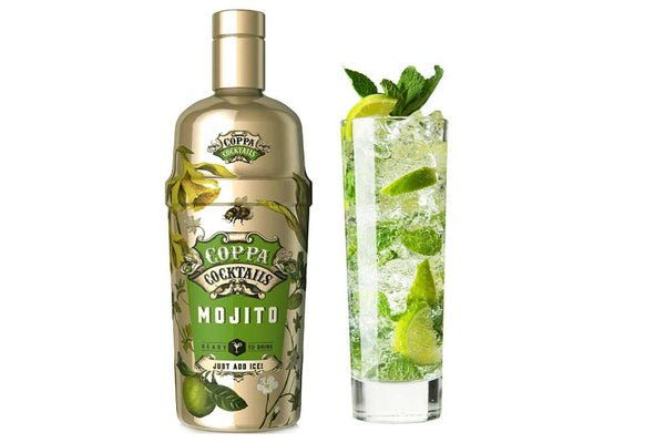 Premium Ready-to-Drink Coppa Cocktails Mojito - 700ml | 10% vol