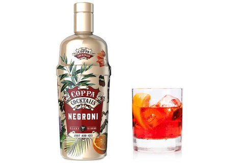 Premium Ready-to-Drink Coppa Cocktails Negroni - 700ml | 14.9% vol