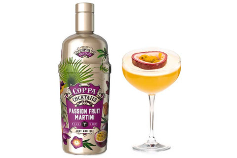 Premium Ready-to-Drink Coppa Cocktails Passionfruit Martin - 700ml | 10% vol
