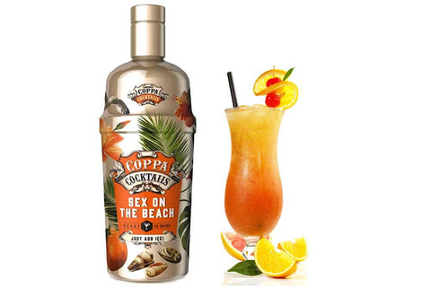 Premium Ready-to-Drink Coppa Cocktails Sex on the Beach - 700ml | 10% vol