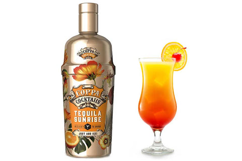 Premium Ready-to-Drink Coppa Cocktails Tequila Sunrise - 700ml | 10% vol