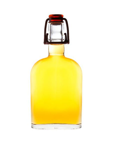 Curve Flask with FRUITY LIQUEUR