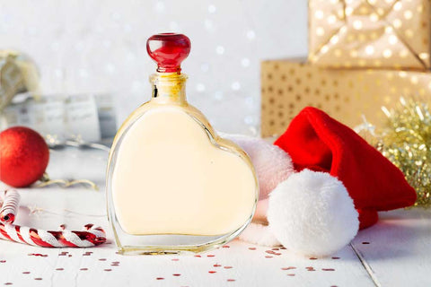 Christmas Gift Passion Heart with Salted Caramel Liqueur 200ml