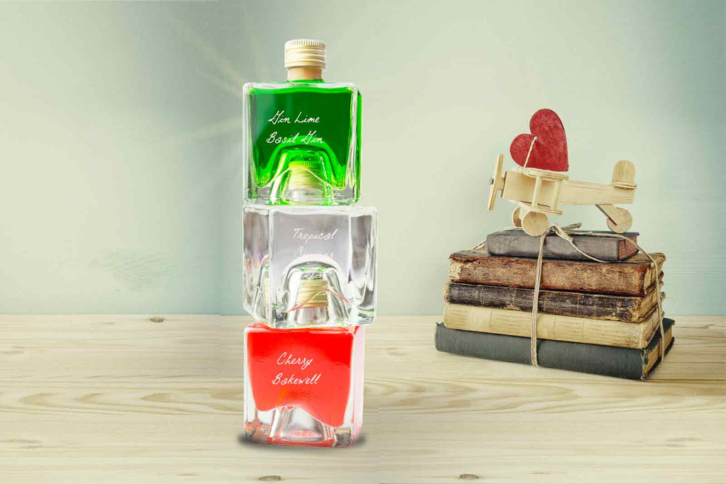 Gin Tower 300ml Gift Set - Lime Basil / Summer Gin / Cherry Bakewell