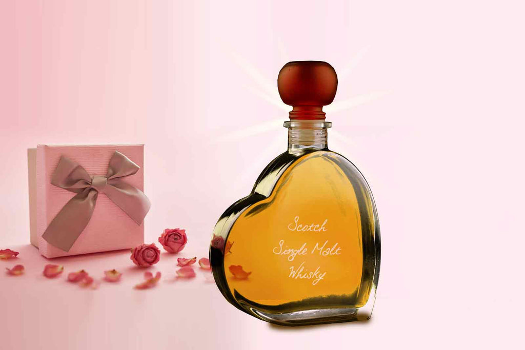 "Passion Heart 200ml with ""MacDuff"" Whisky"