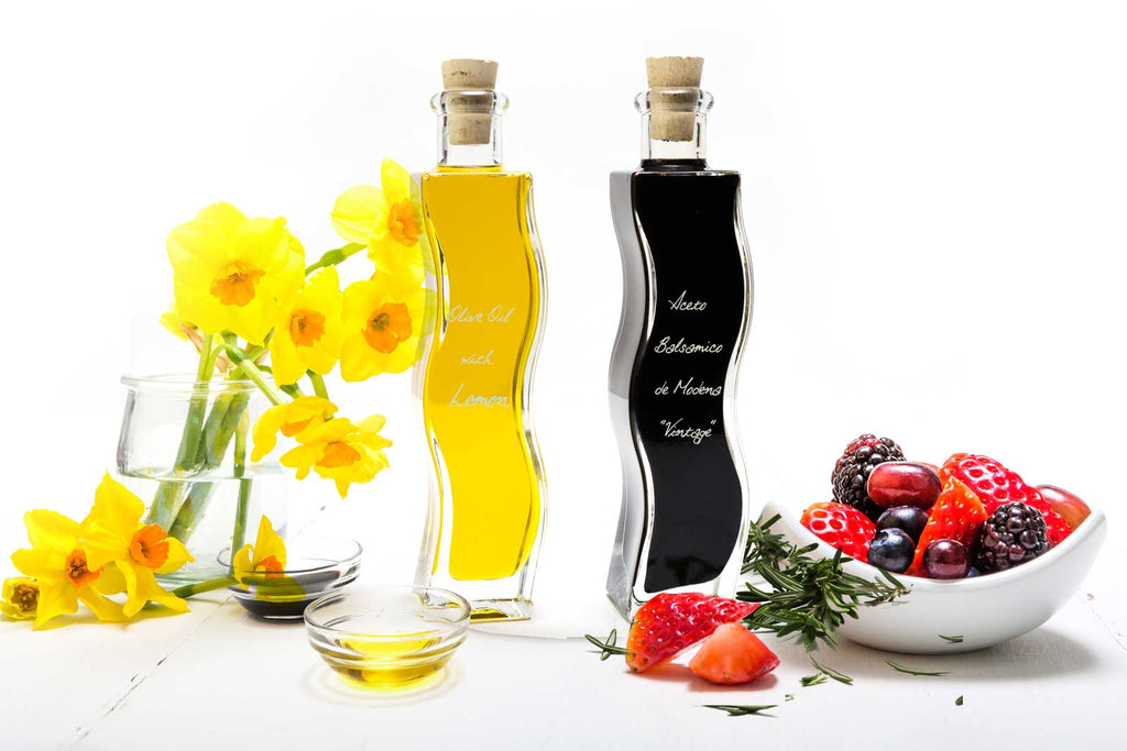 Quadra 2 x 200ml with Aceto Balsamico Vintage & Lemon Oil