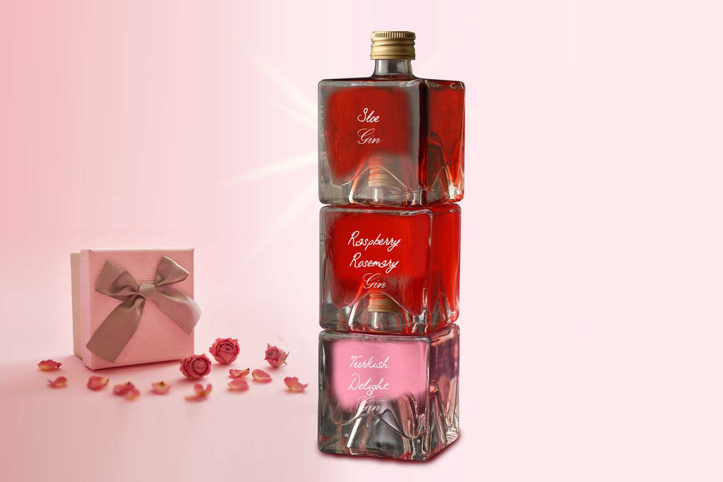 Gin Tower Gift Set - Turkish Delight / Raspberry Rosemary / Sloe